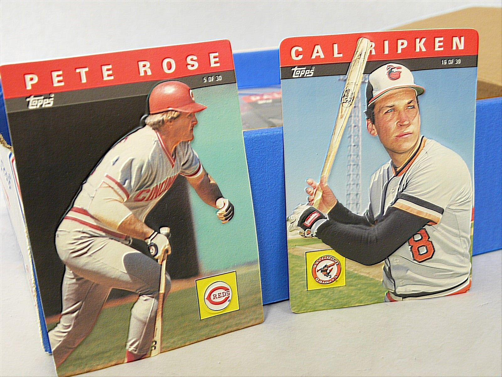 1980s 1990s Topps 3d Baseball Card Set And Similar Items
