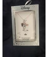 "Disney 14Kt Gold Flash Plated necklace ""Dream Big"" Princess Rose Gold Ti... - $20.99"