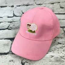 New Zealand Sheep Girls Sz 54cm Hat Pink Adjustable Baseball Cap 100% Co... - $9.89