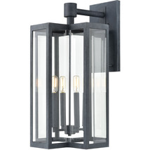 Elk Lighting 45169/4 Wall Sconces Aged Zinc Glass/Steel Bianca - €387,00 EUR