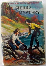 Dana Girls Sierra Gold Mystery no.23 1st Print hcdj Nancy Drew author Keene - $50.00