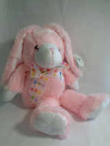 """Beverly Hills Teddy Bear Co Soft Pink Easter Bunny Rabbit Plush 15"""" w/ Tags - $9.88"""
