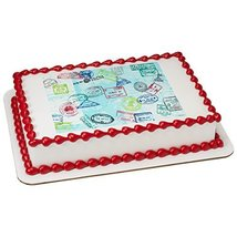 Somewhere to Go Passport Edible Frosting Image 1/4 sheet Cake Topper - $9.99