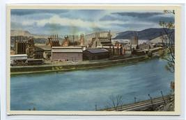 Duquesne Works Mill US Steel P&LE Railroad Pennsylvania Howard Fogg post... - $5.89