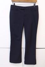 W12437 Womens GAP black stretch modern boot DRESS PANTS, poly/viscose/sp... - $28.92