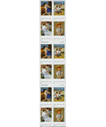 2003 37c Mary Cassatt Paintings, Booklet of 20 Scott 3804-3807 Mint F/VF NH - $14.99
