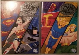 Justice League: The Complete Series Steelbook tin case DVD box set image 3