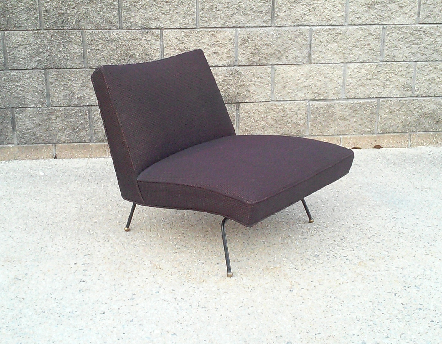Sensational Baughman Style Mid Century Low Slung Armless And 50 Similar Andrewgaddart Wooden Chair Designs For Living Room Andrewgaddartcom