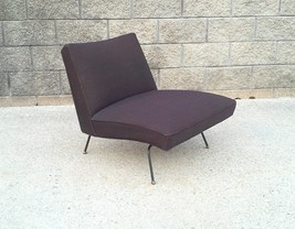 Baughman Style Mid Century Low Slung Armless Lounge Chair - $1,900.00