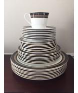 Royal Doulton Dinnerware Cadenza English Fine Bone China Set of 32 - $279.85