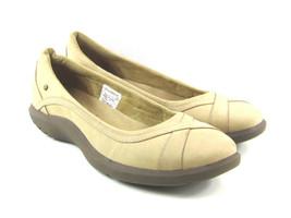 Women's Comfort Flats US 9.5 M Rockport WT Slide Biscotti Adiprene Suede... - $35.63