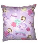 Sofia The First Pillow Princess Sofia 2016 Disney Pillow Pillow Disney U... - $9.99