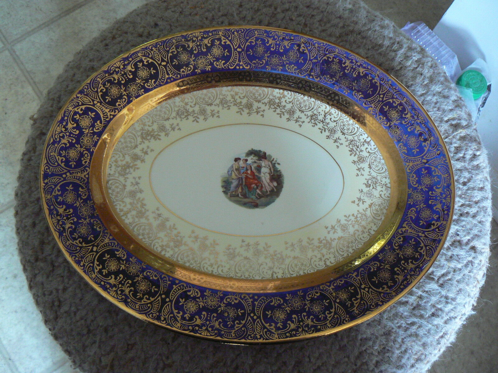 Primary image for Homer Laughlin Bromley 11 3/4 oval platter 1 available