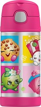 Shopkins Strawberry Kiss Thermos® Fu Ntainer Stainless Steel Insulated 12oz Bottle - $22.76