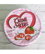 Creme Savers Hard Candy Strawberries & Creme Special Edition 2003 Tin Un... - $54.45