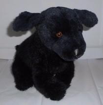 Vintage 1987 avanti Applause Nero Labrador Retriever Peluche Peluche - $30.73
