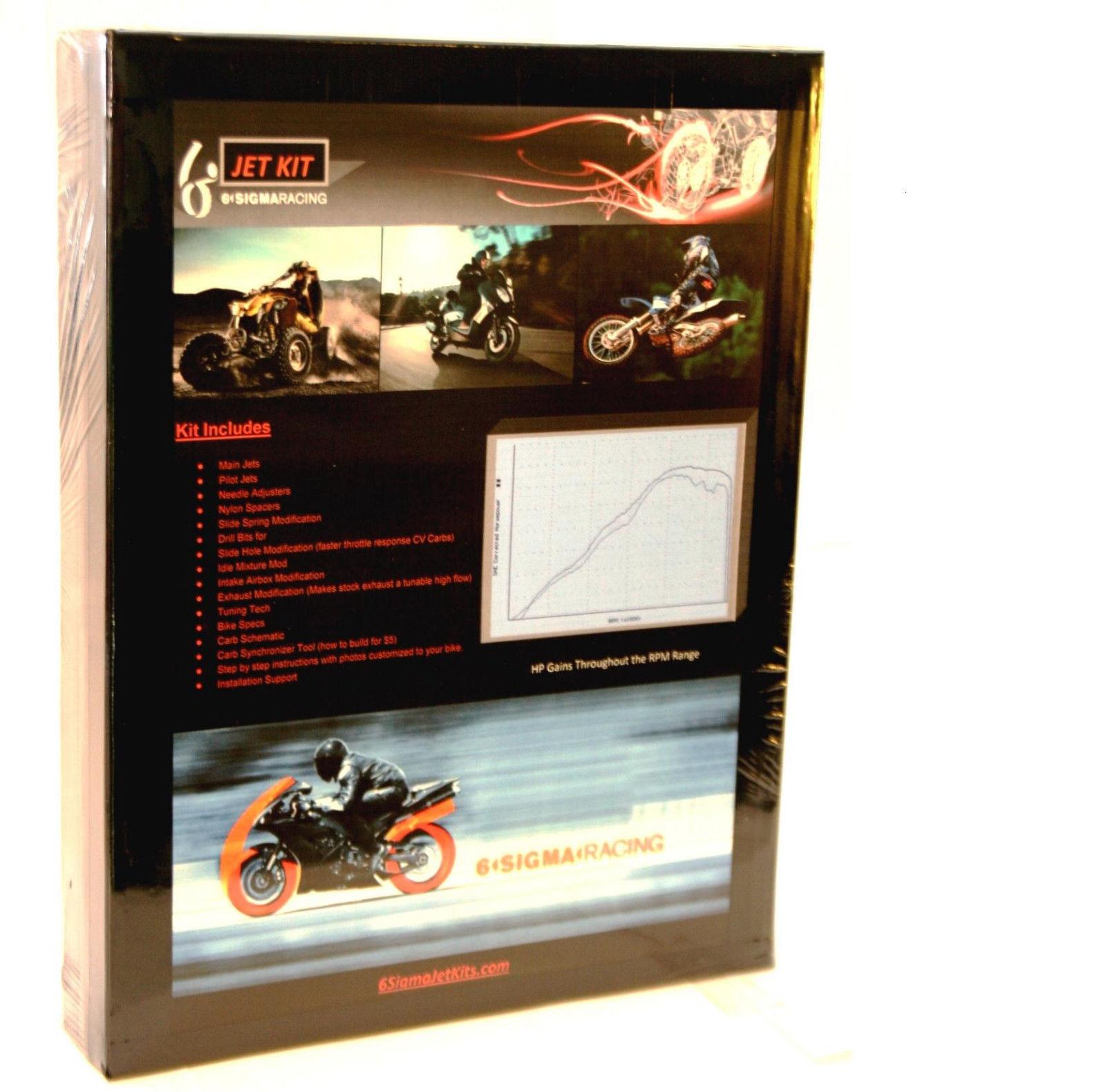 1998-2002 Suzuki LTF 500 Quadrunner ATV Custom Carburetor Carb Stage 1-3 Jet Kit