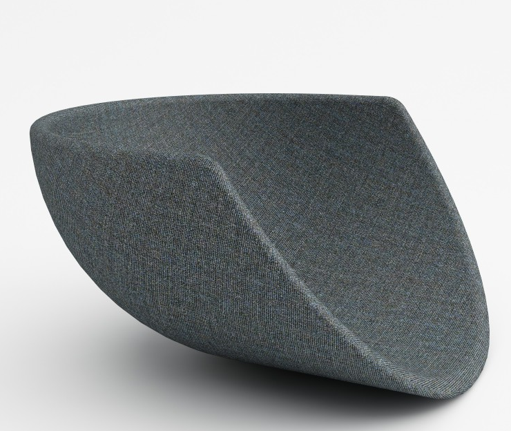Maharam Remix MCM Wool Upholstery Fabric 465956–753 1.75 yards RJ