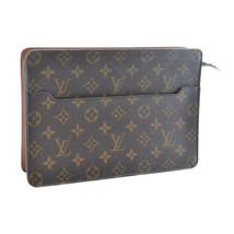 LOUIS VUITTON Monogram Pochette Homme Clutch Bag M51795 LV Auth 9278 - $240.00