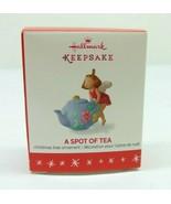 "Hallmark Keepsake Christmas Ornament ""A Spot Of Tea"" QXM8574 - $9.89"