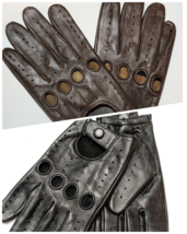Genuine leather gloves Driving men's  perfect  Fit  Premium quality  - $17.99