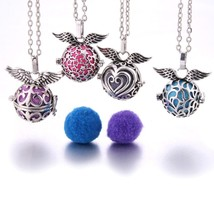 Mexico Chime Music Wing Ball Locket Necklace Vintage Pregnancy Necklace ... - $9.70