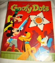 Vtg 1975 Walt Disney's GOOFY DOTS Dot to Dot Activity Coloring Book 214825 - $5.00
