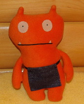 "Ugly Doll Orange Plush 10"" WAGE - in Super Mart Apron - $8.95"