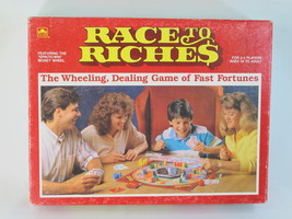 Race to Riches 1989 Board Game 100% Complete Excellent Plus Condition - $29.58