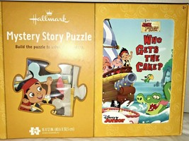 Hallmark Mystery Story Puzzle Jake and the Pirates Puzzle and Book - $14.99