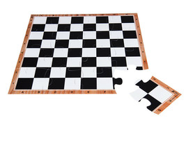 "Chess board Easy to travel. carry, pack-JigChess board - Size 15,5""-45 cm -4x4 - $24.66"