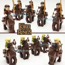 Lord Of The Rings The Hobbit Mirkwood Elf Guard Elves Cavalry Army Minifigures  - $23.99