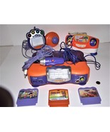 Lot of VTech TV Learning Systems, V.Smile Joystick with 4 Games, For Repair - $24.74