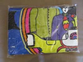 THE BEATLES YELLOW SUBMARINE BEACH TOWEL 30X60 INCHES 100% COTTON OFFICIAL OOP image 4