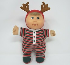 Cabbage Patch Kids 2007 Holiday Reindeer Christmas Stuffed Animal Plush Doll Toy - $22.21