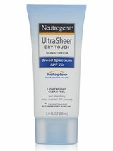 Neutrogena Ultra Sheer Sunscreen SPF 70 - 3 FL OZ - $8.95