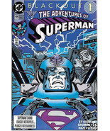 The Adventures of Superman Comic Book #484 DC Comics 1991 NEAR MINT NEW ... - $3.50