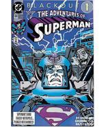 The Adventures of Superman Comic Book #484 DC Comics 1991 NEAR MINT NEW ... - $3.50