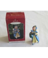 Iris Angel The Language Of Flowers Series #3 1998 Hallmark Christmas Orn... - $5.99