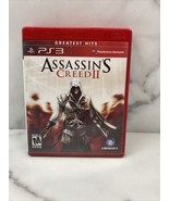 Assassin's Creed II Greatest Hits Playstation 3 PS3 Complete CIB Clean T... - $8.56