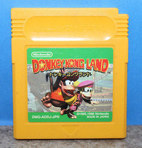 Donkey Kong Land Nintendo Gameboy Japanese Import Version Cartridge Only... - $15.36