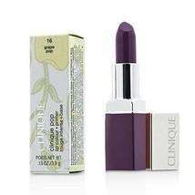Clinique Pop Lip Colour + Primer - # 16 Grape Pop  - $40.00