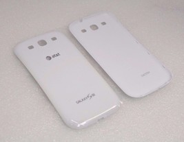 NEW OEM Samsung Galaxy S3 Battery Back Cover for AT&T | White