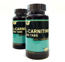OPTIMUM NUTRITION L-CARNITINE 60 tablets - $24.01