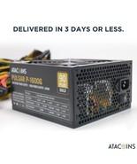 1600W Modular Power Supply For 6 GPU Eth Rig Ethereum Coin Mining Miner ... - $237.59