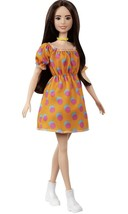 2020 Fashionistas Barbie #160 Polka Dot Dress New In Zippered Pouch Package - $19.34