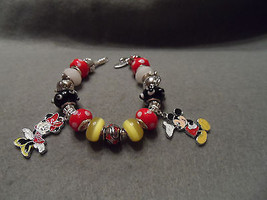 Authentic Pandora bracelet with Disney Mickey and Minnie Mouse Theme (#1) - $87.50