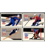 1980 15c Winter Olympics, Lake Placid, Block of 4 Scott 1795-98 Mint F/V... - $1.47