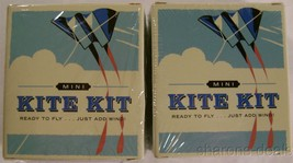 Kite Kit Lindsay Power Mega Mini Compact Book Set 2 Outdoor Activity Out... - $9.99