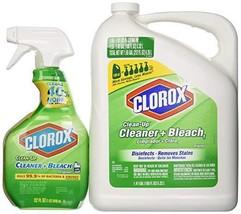 Clorox Cleaner Spray/Bleach and Refill Combo, 212 Fluid Ounce - NEW - $20.56
